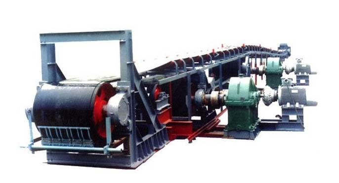皮带运输机一般有多台电机拖动一条皮带,对